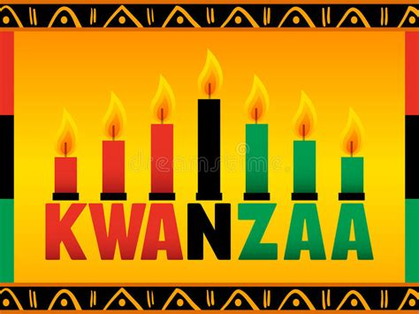 kwanzaa stock vector illustration  holiday seasonal