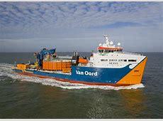 Van Oord's cablelaying vessel Nexus operational Van