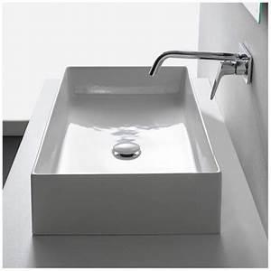 Aufsatzwaschbecken 60 Cm : scarabeo teorema 2 0 aufsatzwaschbecken 60 x 40 cm 5101 megabad ~ Indierocktalk.com Haus und Dekorationen