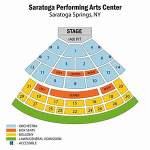 Ford Community Performing Arts Center Seating Chart