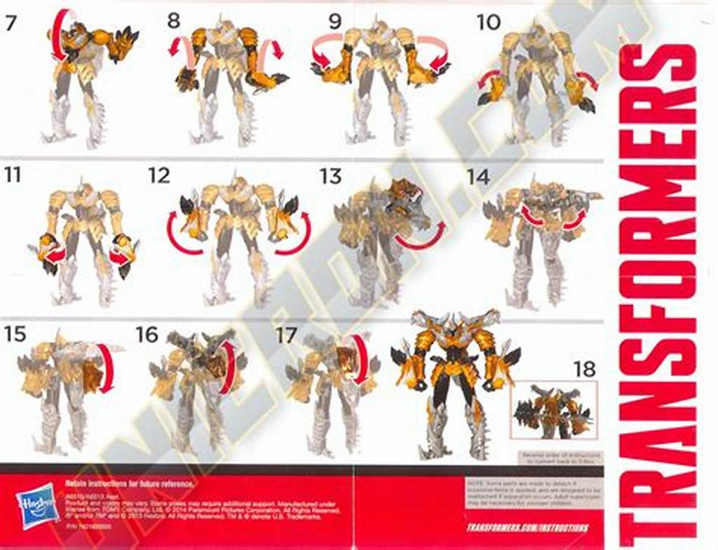 #Instructions #For #Transformer #Toys