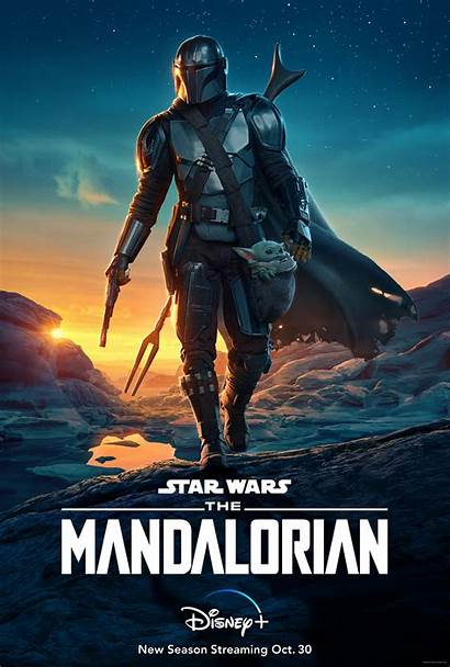 Mandalorian Season Poster Official Trailer
