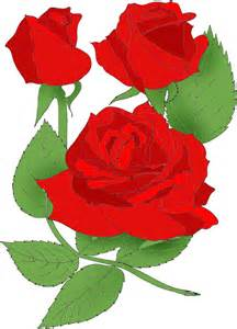June Rose Month Clip Art