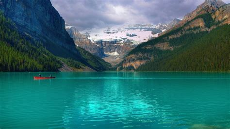 emerald lake louise canada desktop pc  mac