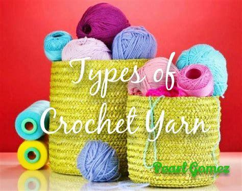 crochet  easy types  yarn crochet basics