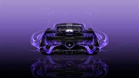 lamborghini gallardo  fire abstract car