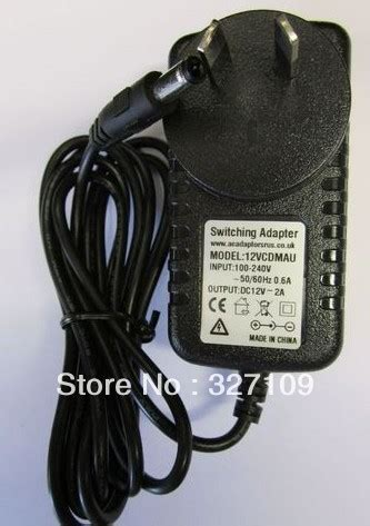 pyramat gaming chair power cord 12v 2a ac dc power supply adapter wall charger replace for