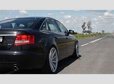Audi A6 C6 4F 24 BDW Stock Exhaust Vossen YouTube
