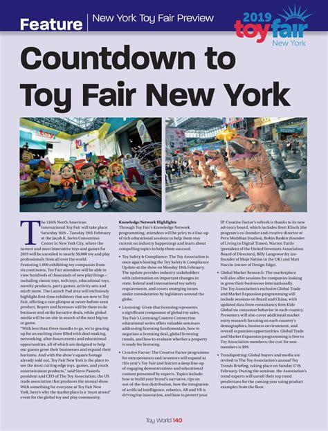 Toy World January 2019 by TOYWORLD MAGAZINE Issuu