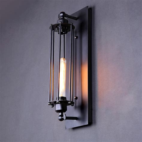 personalized vintage wall light novelty test tube design