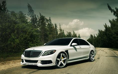 Mercedes-benz S-class S550 Tuning Car Mercedes Tuning W222