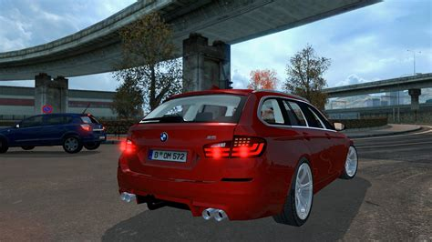 Mod Car Bmw Minecraft 1 5 2 by Bmw M5 Touring 1 31 Car Mod Truck Simulator 2 Mods