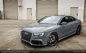 Audi A5 Rs : nardo gray audi rs 5 by tag motorsports and hre wheels my dream garage audi rs5 audi cars ~ Medecine-chirurgie-esthetiques.com Avis de Voitures