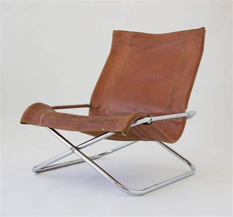 sueki uchida leather sling chair for sale at 1stdibs