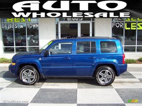 blue jeep patriot 2010 deep water blue pearl jeep patriot sport 4x4