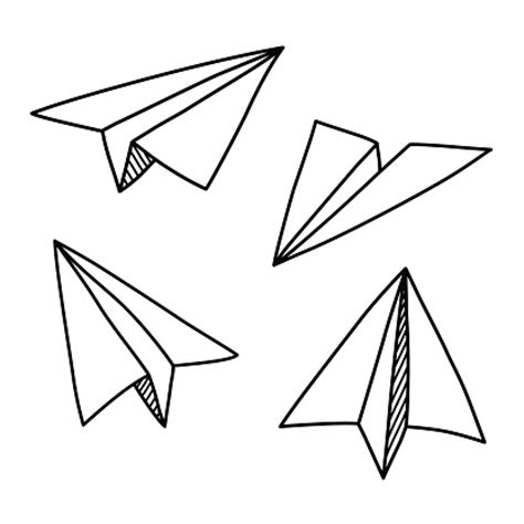 paper airplane clipart black and white paper airplane clipart clipart best