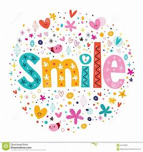 Smile clipart the word - Pencil and in color smile clipart ...