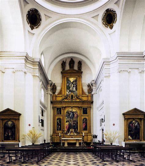 santo domingo el antiguo altarpieces