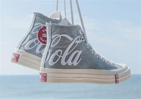 kith  coca cola  converse chuck  washed denim