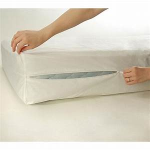 Bed bug and dust mite proof king cal king size mattress for California king bed bug protector