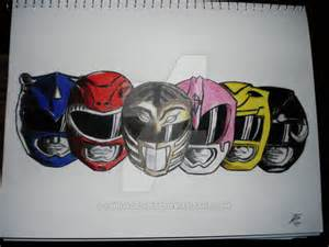 Mighty Morphin Power Rangers Drawings