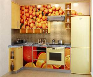 treat your kitchen to fruity backsplashes this summer With what kind of paint to use on kitchen cabinets for halo orange stickers