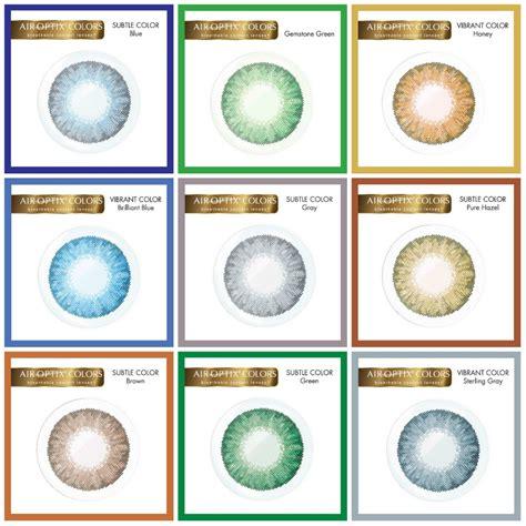 optix colors air optix 174 colors contact lenses enhances breathability