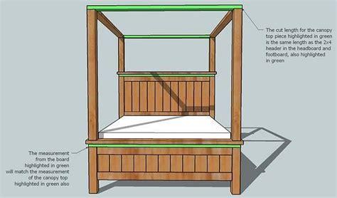 poster bed plans    plans diy