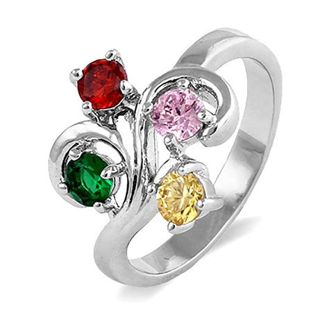 Close To The Heart 4 Stone Swirl Birthstone Ring  Eve's. Thin Diamond Wedding Band. Animal Necklace. Skull Wedding Rings. Plate Chains. Small Ankle Bracelets. Tanzanite Engagement Rings. St Christopher Medallion. Emerald Cut Rings