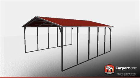 sturdy vertical roof metal carport metal