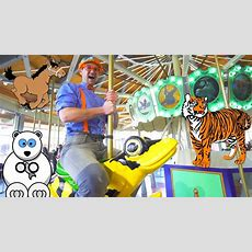 Learn Zoo Animals For Kids With Blippi  A Day At The Zoo Youtube