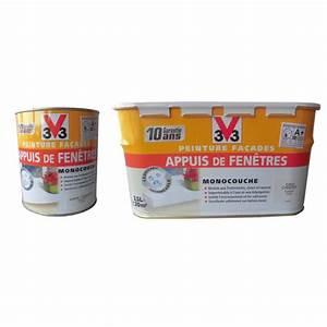 peinture pour appuis de fenetres v33 gris ciment With peinture pour ciment exterieur