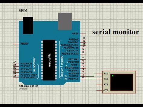 arduino tutorial serial monitorvirtual terminal