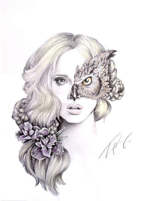 owl girl image   helena  favimcom