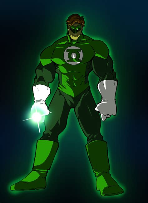 green lantern aka hal by misterho on deviantart