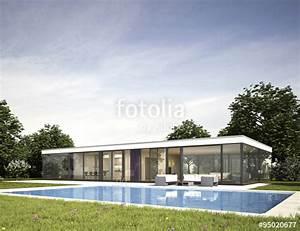 Bungalow Mit Pool : moderner bungalow mit pool stockfotos und lizenzfreie bilder auf bild 95020677 ~ Frokenaadalensverden.com Haus und Dekorationen
