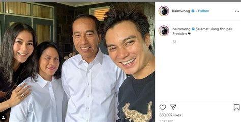 dibully netizen soal ucapan ultah  jokowi baim wong edit  matamatacom