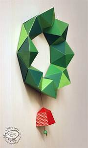Diy Paper Christmas Wreath Papercraft    Decor