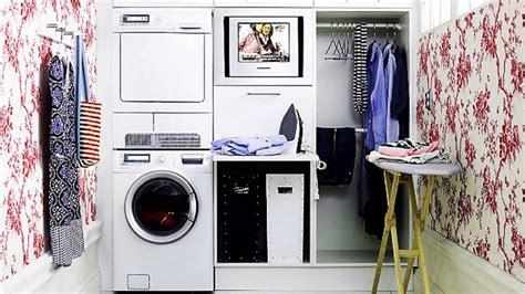 como organizar  cuarto de lavado  plancha