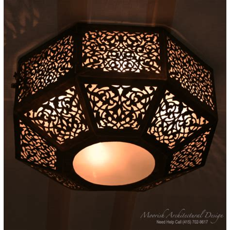 moroccan ceiling light san francisco