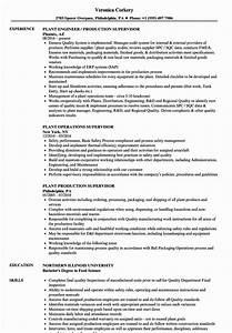 23 Production Supervisor Resume Examples In 2020 Human