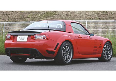 Miata Garage by Garage Vary Rear Diffuser For Mazda Miata Mx 5 Nc Rev9