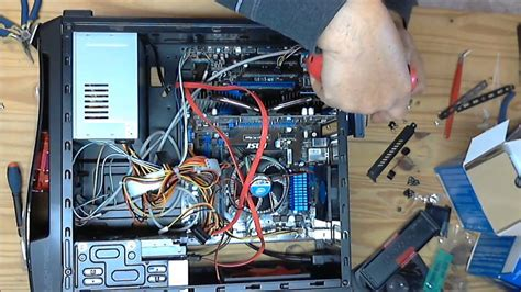montage d un pc de bureau montage d 39 un ordinateur fixe à partir de pièces détachées