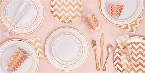 white rose gold premium tableware rose gold trim premium