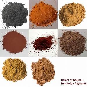 Iron Oxide Pigments Gallery