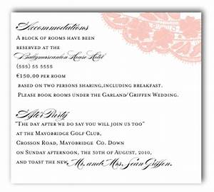belletristics stationery design and inspiration for the With wedding invitation insert with accommodations