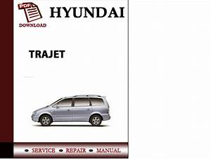 Hyundai Trajet Workshop Service Repair Manual Pdf Download