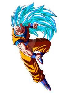 DBZ Goku Super Saiyan God 3