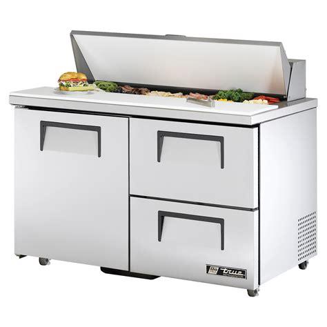 refrigerated countertop prep unit true tssu 48 12d 2 ada hc refrigerated sandwich salad prep