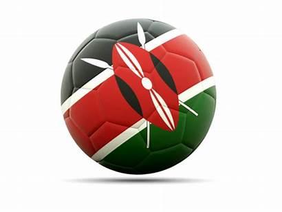 Kenya Icon Football Flag Commercial Non Use